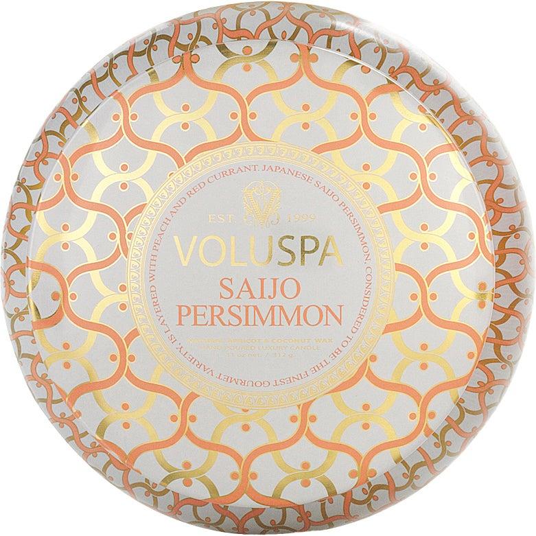 Saijo Persimmon - 2-Wick Maison Metallo Candle 312g thumbnail