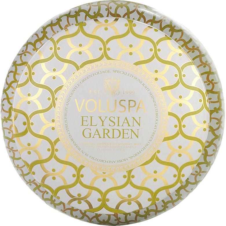 Elysian Garden - 2-Wick Maison Metallo Candle 312g thumbnail