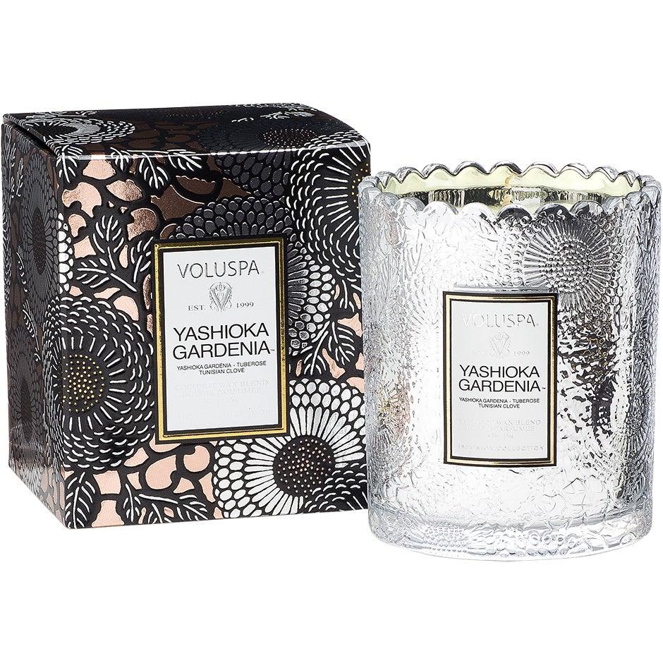 Yashioka Gardenia - Boxed Scalloped Candlepot 176g thumbnail